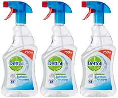 Dettol Anti-Bacterial Surface Cleanser 750 ml (Pack of 3) £2.02 (S&S) @ Amazon (with voucher)