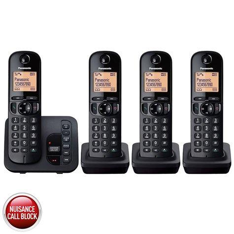 Panasonic KX-TGC224EB Quad Pack DECT Cordless Telephone £44.89 Delivered.