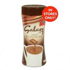 Galaxy Hot Chocolate Drink (200g) ONLY 50p INSTORE @ Poundstretcher