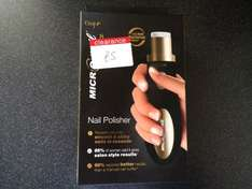 Emjoi micro nail polisher £5 Boots