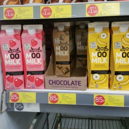 Moo Milk 85p @ Iceland