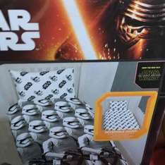 Star Wars single duvet cover  £2.50 Morrisons - Cambourne