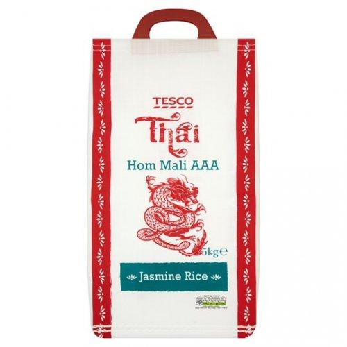Thai Hom Mali AAA Jasmine Fragrant Rice 5Kg was £7.99 now £5.50 @ Tesco