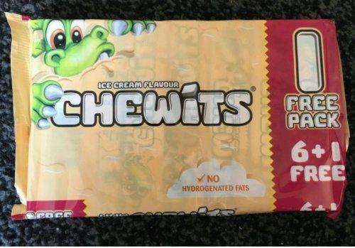 Chewits Ice Cream x 7 99p @ B&M Bargains