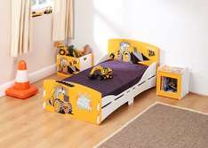 Kidsaw JCB Bed, Toy Box and Bedside Cabinet £129.19 Delivered with code @ Argos (see comments for Paw Patrol Cube Toddler Bed / Disney Princess Bed)