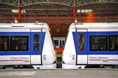 Family train ticket £40 to London with Chiltern Railways