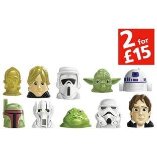 Disney Wikkeez Star Wars 10 Pack now £2.99 /  51cm Han Solo Figure now £6.99 C+C @ Argos