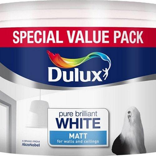 Dulux 7L Pure Brilliant White Matt £13 The Range