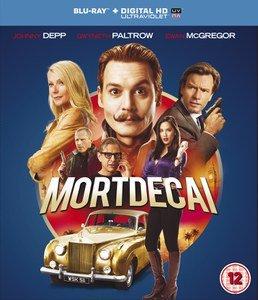 mortdecai bluray movie Johnny Depp £2.99 at Zavvi (includes ultraviolet uv code) quidco also