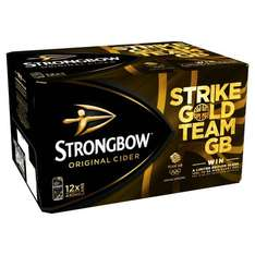 Strongbow Original Cider, 12 x 440ml Cans £5.39 + Min £2.99 P&P @ Amazon Pantry (Prime Customers)
