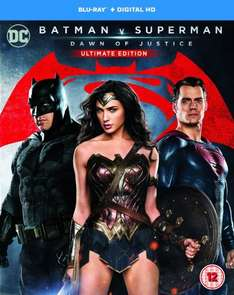 Batman v Superman: Dawn of Justice (Ultimate Edition) [Blu-ray] [2016] [Region Free] @ Amazon