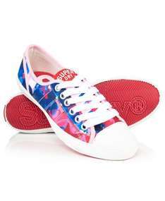 Women's Superdry Low Pro Trainers Pink Petal £10.49 Del @ Superdry Ebay Outlet