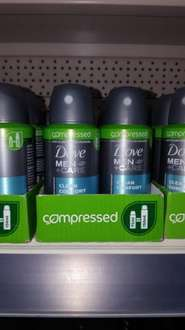 Dove Clean Comfort 75ml=150ml compressed only £1 @ Poundworld