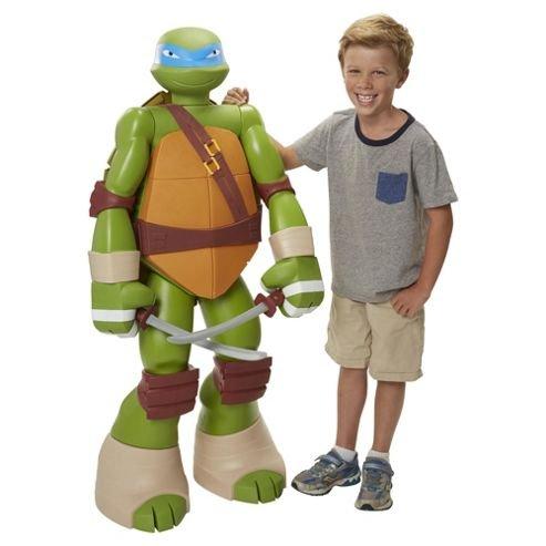 48'' Articulated Teenage Mutant Ninja Turtle Leonardo Colossal Big Figure (Was £100) Now £50  delivered at Tesco Direct