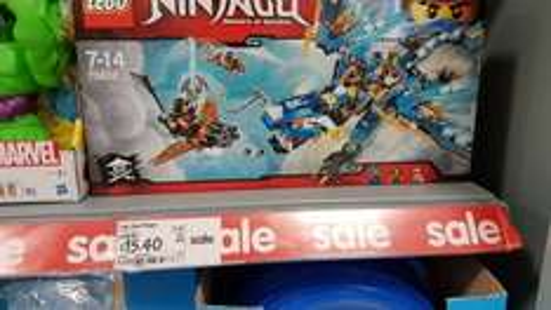 Lego Jays Dragon 70602 £15.40 @ Asda Wallington instore