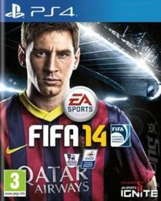 Fifa 14 Sony PS4 Preowned £1.54 After Using Code KID20 @ MusicMagpie