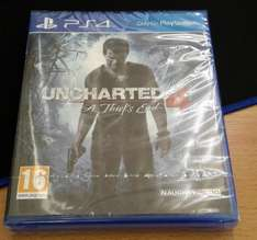 Uncharted 4 - A Thief's End PS4 -- eBay / MMC Online £22.50