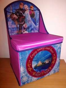 Disney Frozen Foldable Storage Chair £1.00 @ B&M Hamilton