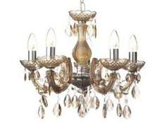 ** Antoinette 5 Arm Chandelier, Cognac £9.50 @ Tesco Direct (C&C £2) **