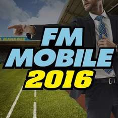 Football Manager Mobile 2016 iOS offer £2.29