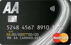 AA Fuel Save credit card 4% cashback on fuel purchases (+0.5% on other spend) Free breakdown cover Y1 followed by free MOT annually