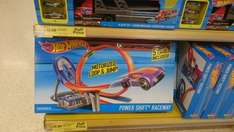 hot wheels car transporter £12.50 and power loop track £15.00 @ tesco