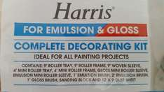 Harris Complete Decoating Kit - Emulsion & Gloss  £6 reduced from £10 at Asda