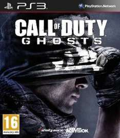 Call Of Duty Ghosts PS3 £3.04 (Prime) / £5.03 (non Prime)  Sold by PROGAMES and Fulfilled by Amazon.