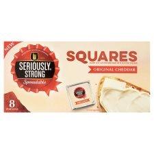 Seriously Strong Spreadable Squares Original SAVE 75p Now £1.00 Tesco