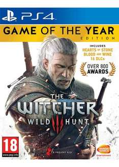 Witcher 3 GOTY PS4/XBOX ONE £32.85 base.com