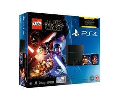 PS4 500GB + No Mans Sky + Lego Star Wars + Force Awakens Bluray [Tesco] £269