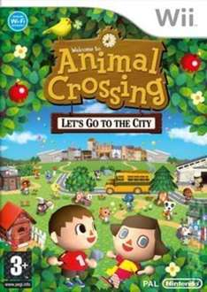 Animal Crossing Let's Go To The City Nintendo Wii/Wii U £2.82 with code @ Music Magpie USED