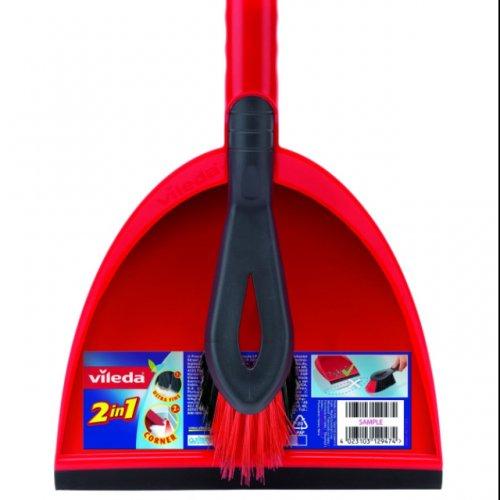 £2.50 Vileda Dust Pan & Brush Set @ Amazon (Add On)