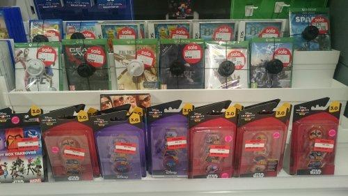 Ps4, xbox one, Disney infinity clearance stock from £3.50@ Asda Feltham