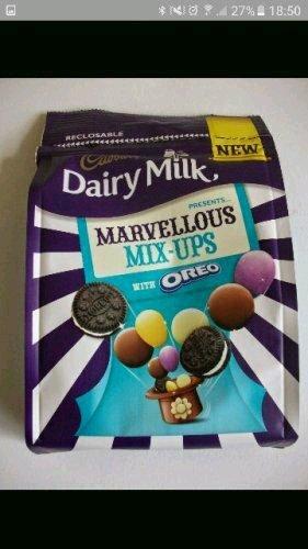 Dairy Milk MARVELLOUS MIX-UPS 111g !!! only 0.75p @ Sainsburys