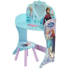 Wooden Disney Frozen Mirror Dresser and Stool Vanity Set £9.99 @ B&M Blantyre