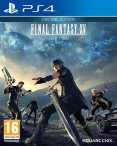 Final Fantasy 15 DAY ONE Edition Pre order @ SimplyGames for £34.85 !