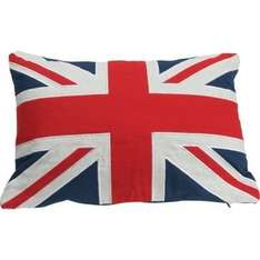 Buy Union Jack Flag Cushion for only £2.99 (RRP £9.99) at Argos