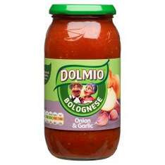 Dolmio Onion & Garlic 500g Jar 79p @ B&M