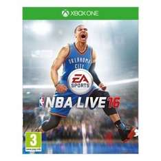 Buy NBA LIVE 16 - Xbox One was £45.99 now down to £13.99 at Argos