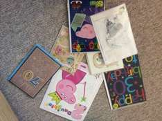 All cards in the shop only £1 today only at Clintons Cards Lancaster
