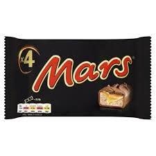4 pack mars bars for 37p @ Tesco