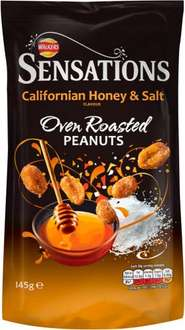 Walkers Sensations Thai Sweet Chilli Coated Peanuts (150g) was £1.98 now £1.00 (Rollback Deal) @ Asda