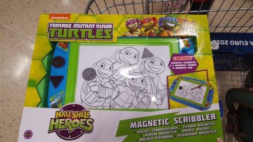 ninja turtles magnetic scribbler £2.50 @ Tesco instore