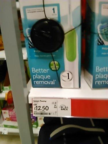 PHILIPS SONICARE Toothbrush ... £12.50 @ Asda