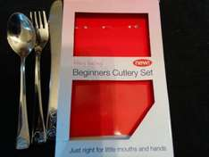 Stainless Steel Beginners Cutlery Set £1 @ Poundland
