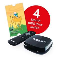 Nowtv box with 4 months kids pass was £25 now £15 in Asda