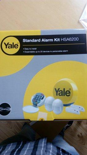 Yale HSA6200 Alarm wirefree £80 B&Q - Trafford Park