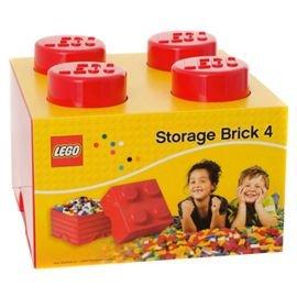 Lego Storage Brick Red or Blue 4 Stud £10.61 Tesco Direct plus CC £2 if less £30