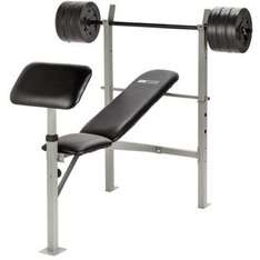 Pro Fitness Workout Bench with 30KG Weights £39.99 @ Argos